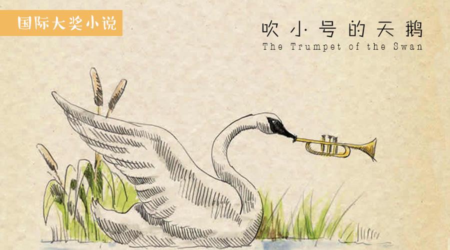吹小号的天鹅